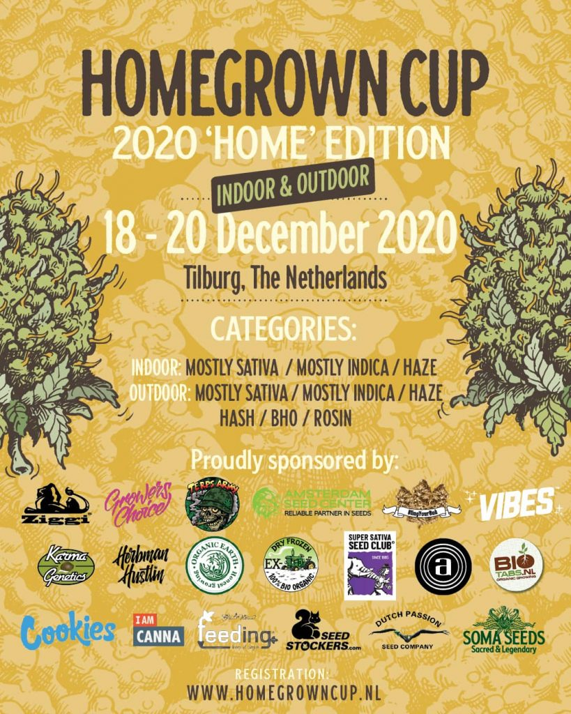HomeGrown Cup 2020 Home Edition registration form